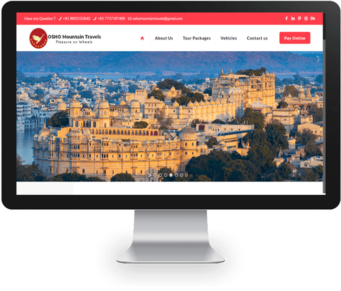 Tour & Travel Planner Website Designer