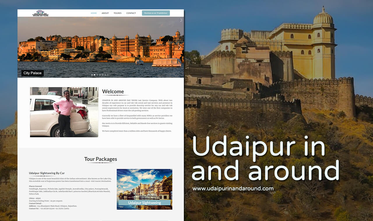 Tours Planner Website Designers