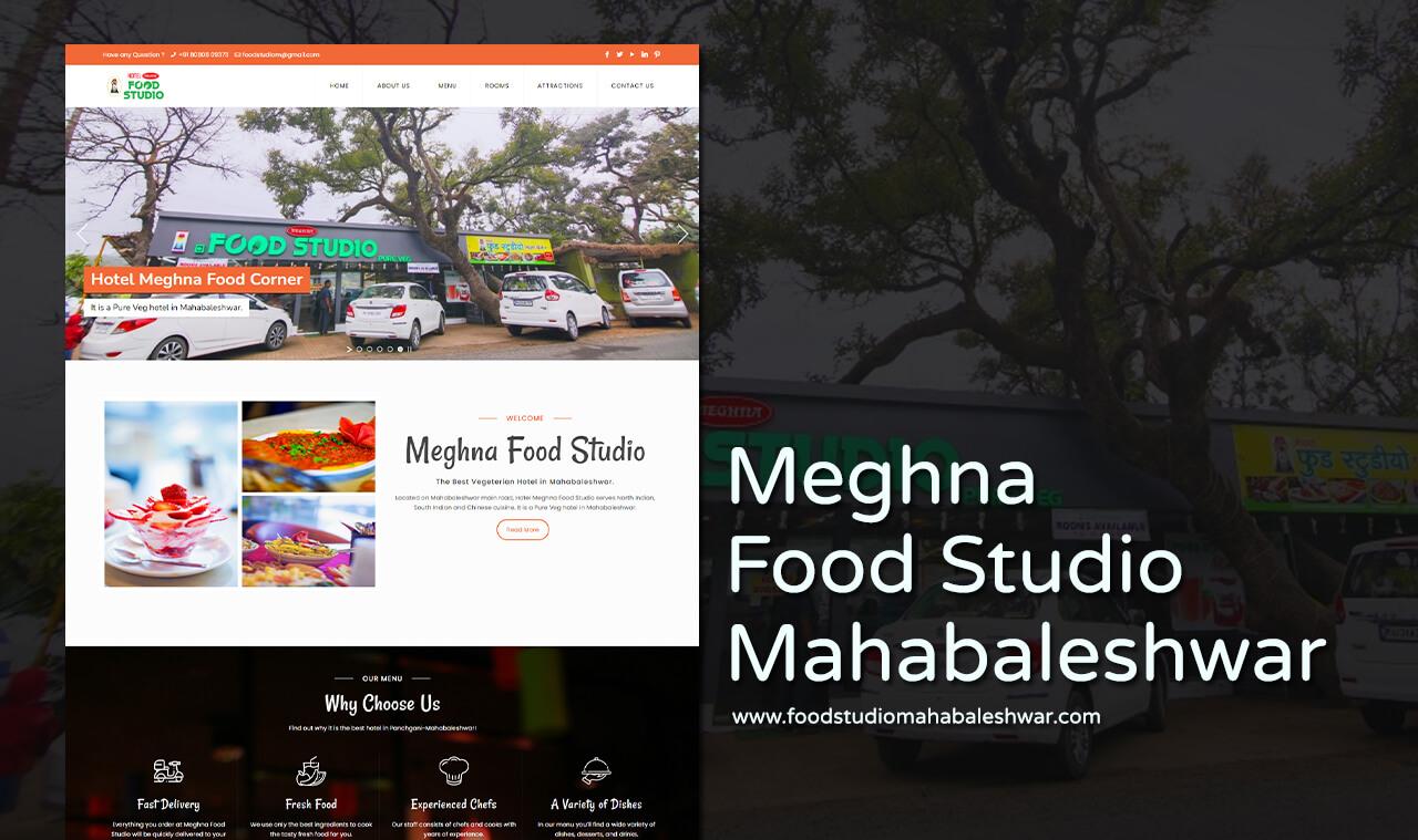 Vegetarian Hotel Website Designers