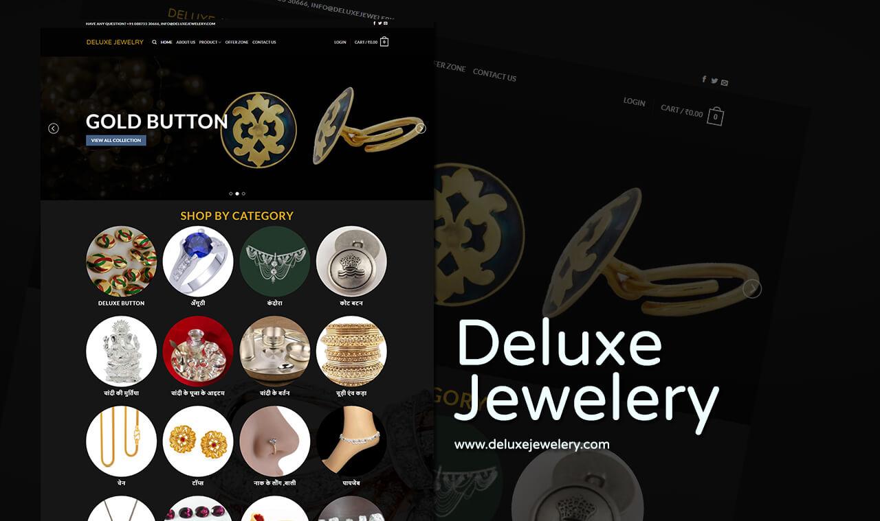 jwelery collections website designer