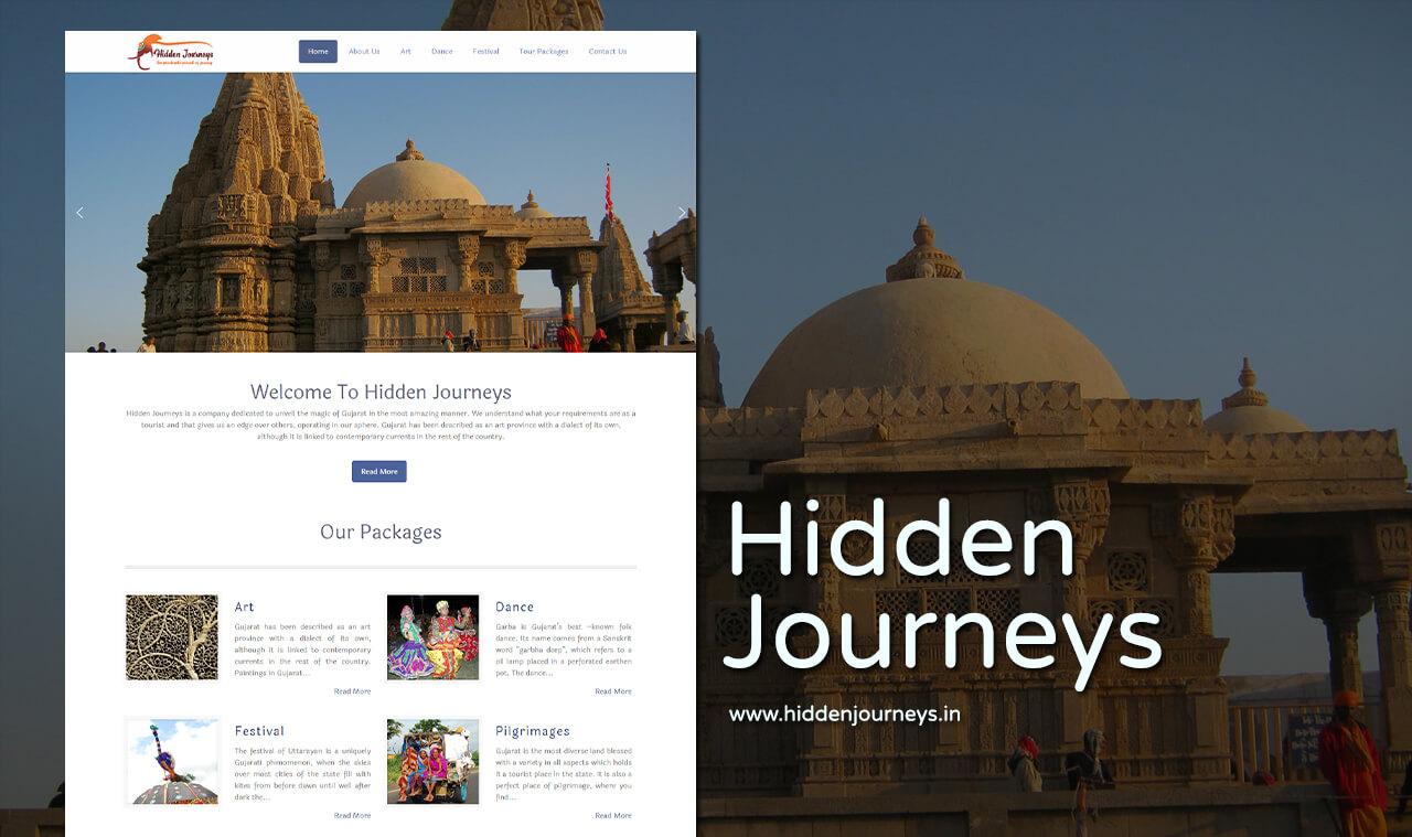 tourist Company website designer