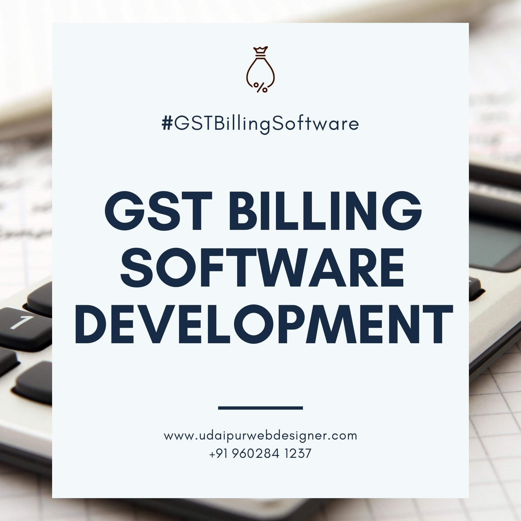 GST Billing Software Development Udaipur