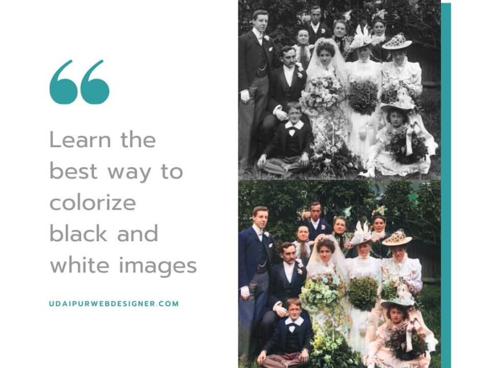 best way to colorize black and white images
