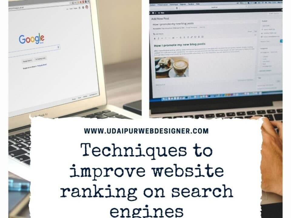Techniques to improve website ranking on search engines