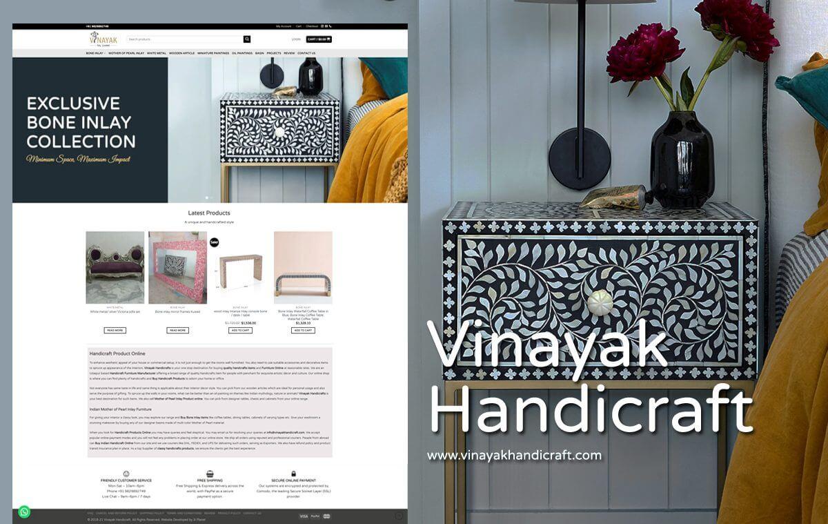handicraft website designer