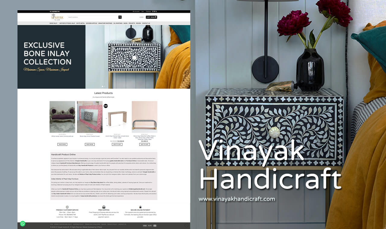 handicraft website designer