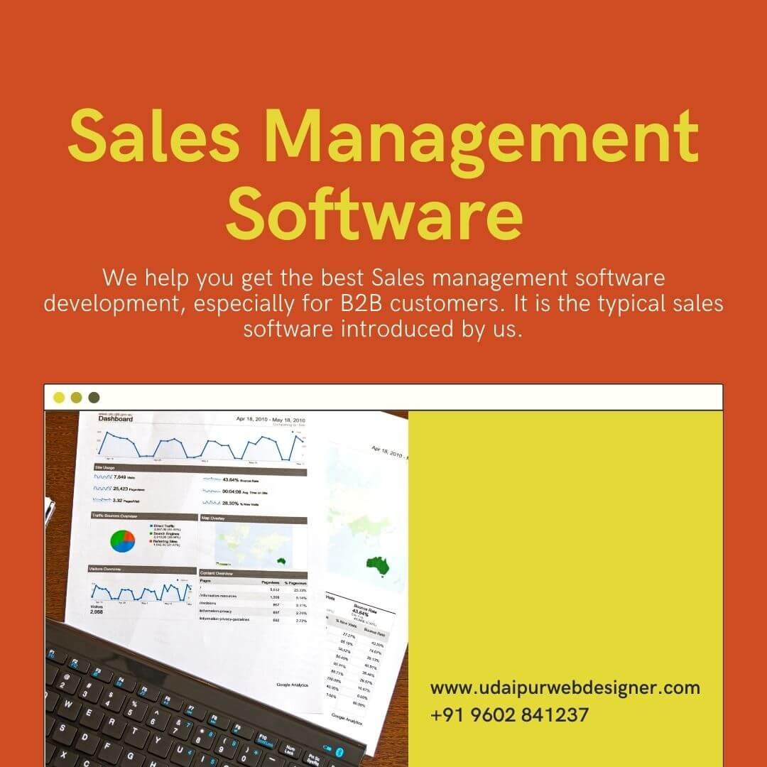 Sales Management Software Development in Udaipur